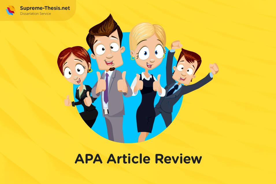 How to Create an APA Article Review